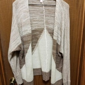 Cozy Cardigan Sweater- sz S/M
